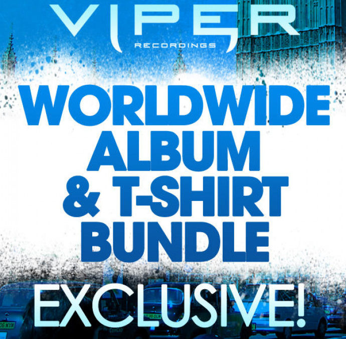 WORLDWIDE ALBUM & VIPER T-SHIRT BUNDLE (TRACKITDOWN EXCLUSIVE)
