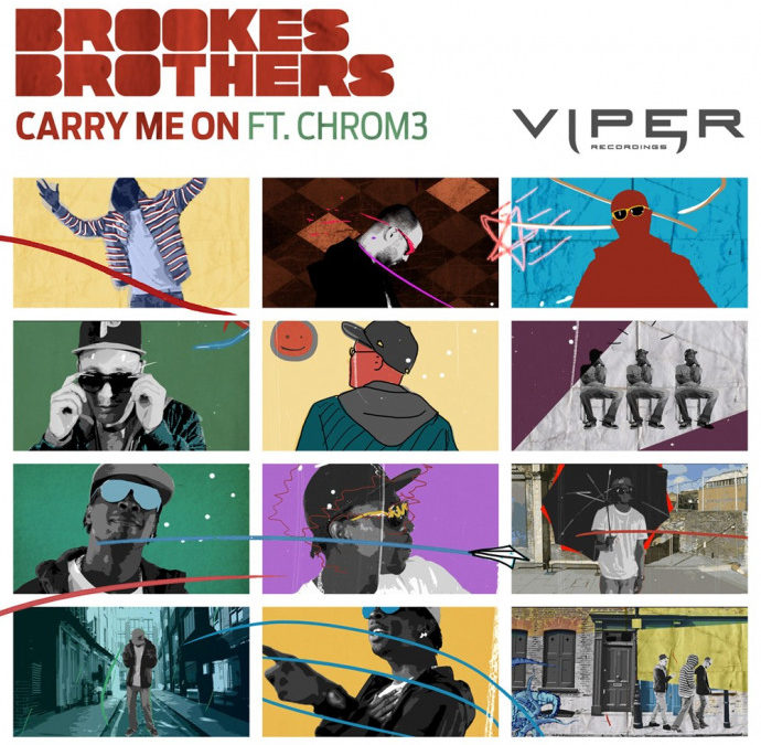 BROOKES BROTHERS – CARRY ME ON (FEAT. CHROM3)