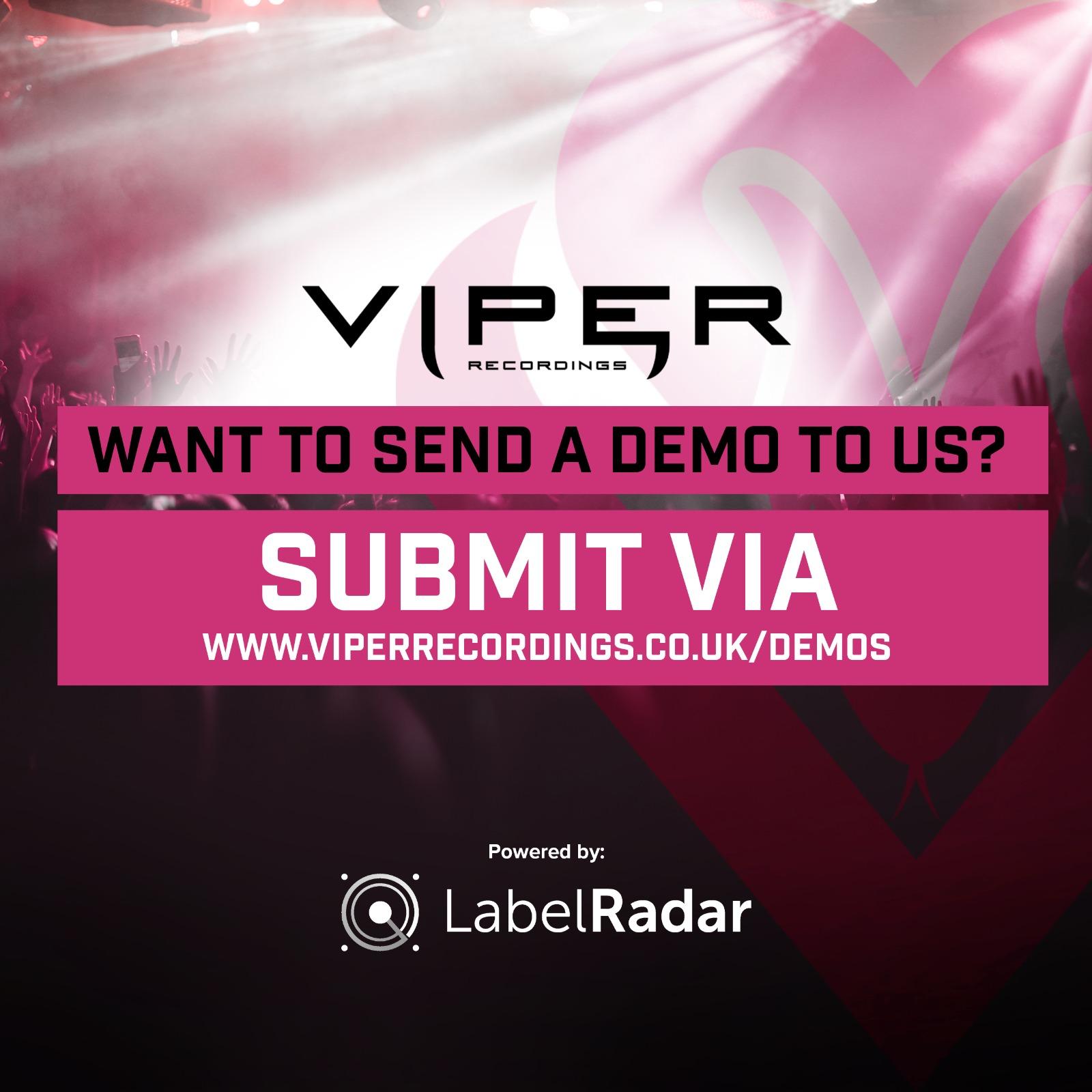Now Accepting Demos on Label Radar