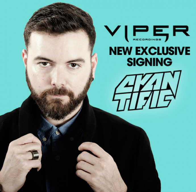 CYANTIFIC SIGNS EXCLUSIVELY TO VIPER RECORDINGS