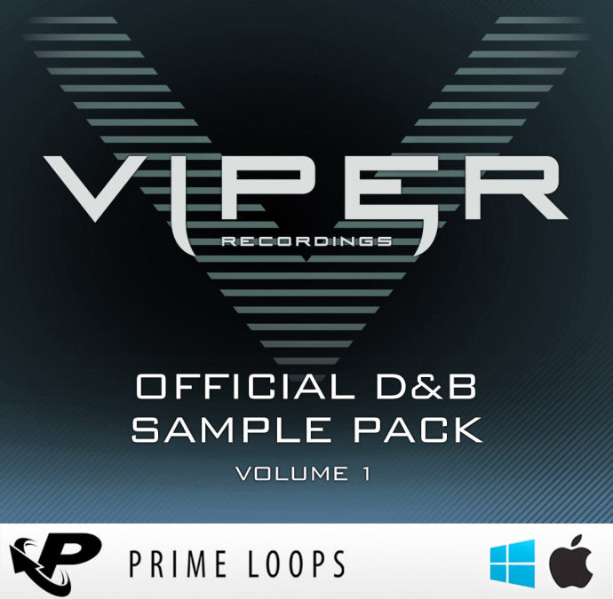 VIPER PRIME LOOPS OFFICIAL D&B SAMPLE PACK V.1
