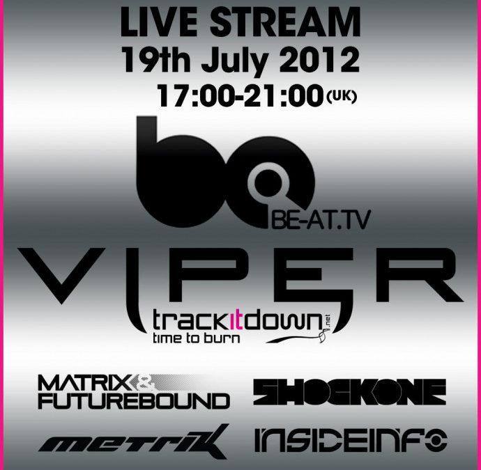 VIPER RECORDINGS LIVE ON B@TV