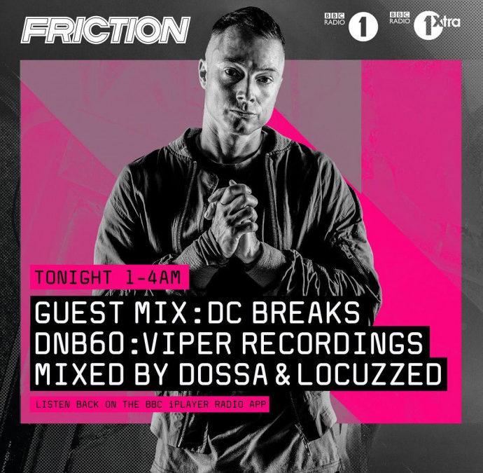 DOSSA & LOCUZZED – DNB60 MIX FOR BBC RADIO 1 & 1XTRA