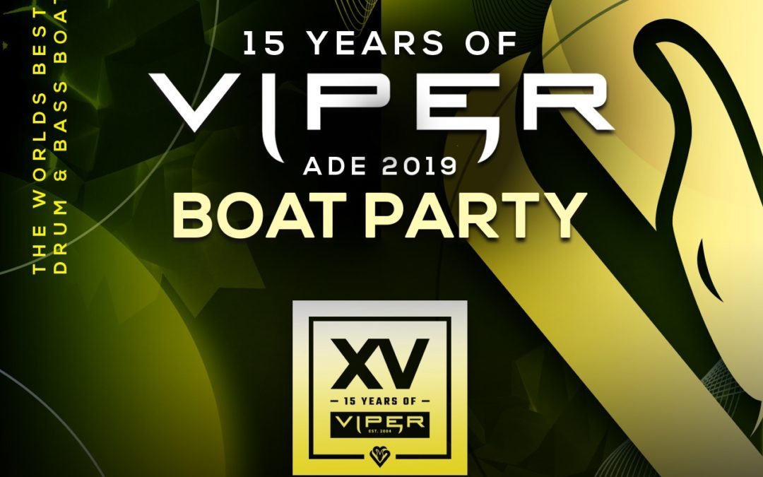 VIPER BOAT PARTY @ ADE (OCTOBER 16TH 2019)